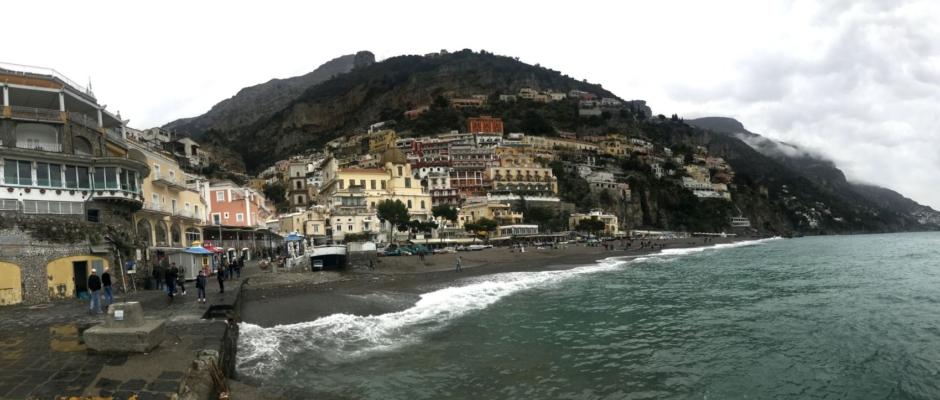 Boydan boya Amalfi Kıyıları