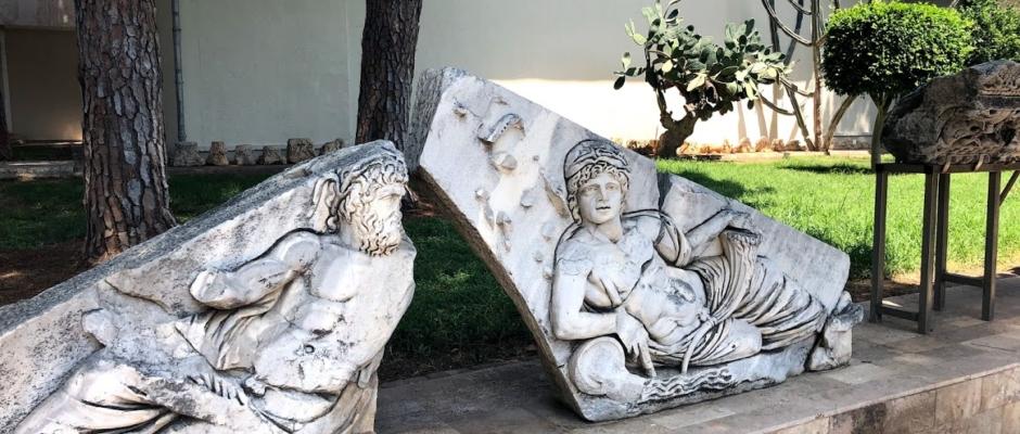 Antalya Museum, August 2020